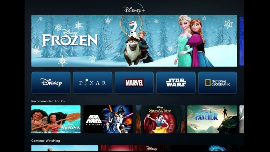 Disney plus header