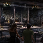 Game of Thrones Studios Tour Castle Black Mess Hall
