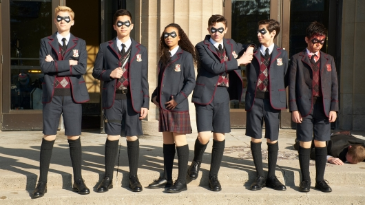 Netflix's The Umbrella Academy 01