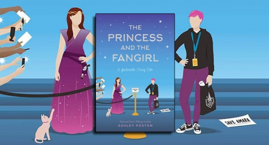 The Princess and the Fangirl cover banner