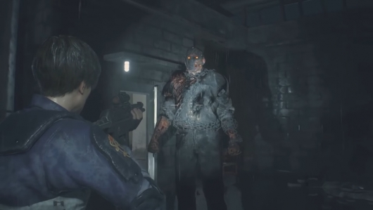Resident Evil 2 Remake Jason Voorhees Mr. X Mod