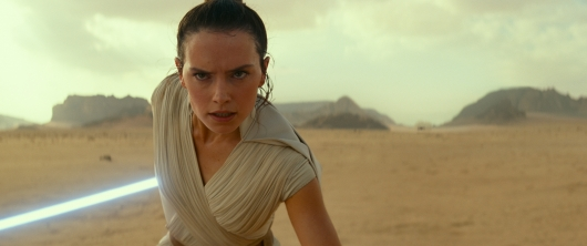 Rey (Daisy Ridley) in Star Wars: Episode IX