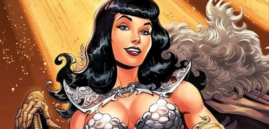 Bettie Page: Unbound #1 header