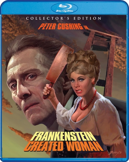 Blu-ray Review: Frankenstein Created Woman (Collector's Edition) Blu-ray Cover Art