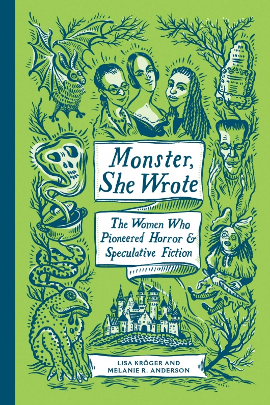 Monster She Wrote book cover