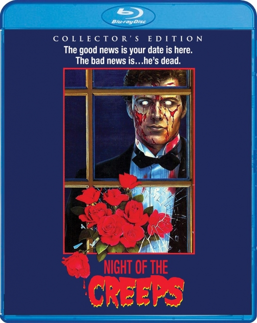 Blu-ray Review: Night of the Creeps (Collector's Edition) Cover Art