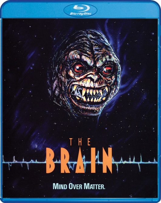 The Brain Blu-ray Cover Art (Scream Factory)