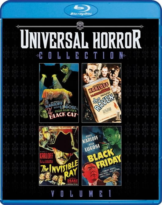 Blu-ray Review: Scream Factory's Universal Horror Collection: Volume One Cover Art