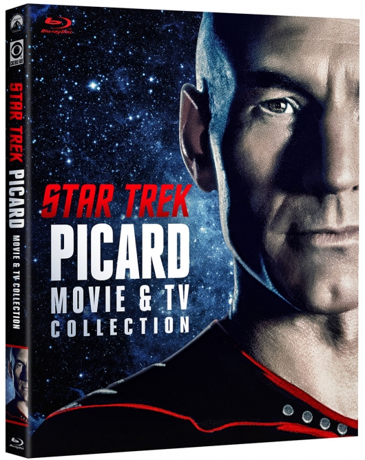 Star Trek: Picard Movie and TV Collection Blu-ray cover