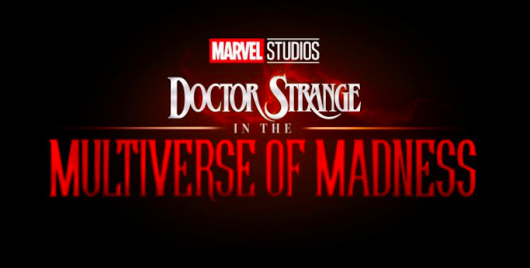 Doctor Strange In The Multiverse Of Madness title card