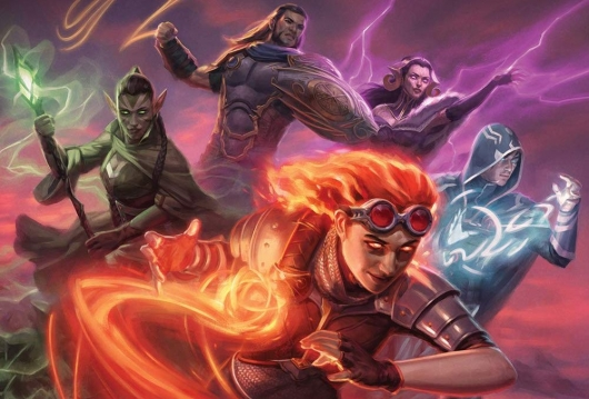 Magic The Gathering: Rise Of The Gatewatch: A Visual History header
