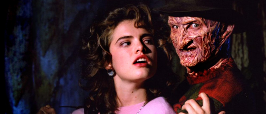 A Nightmare On Elm Street Nancy and Freddy