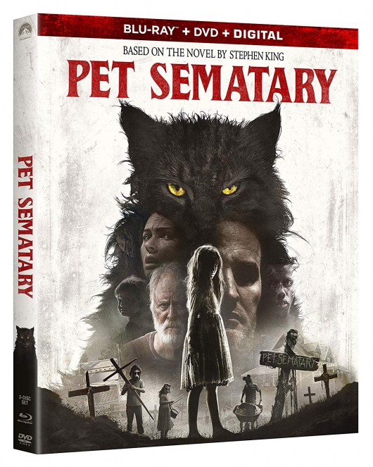 Pet Sematary (2019) blu-ray box