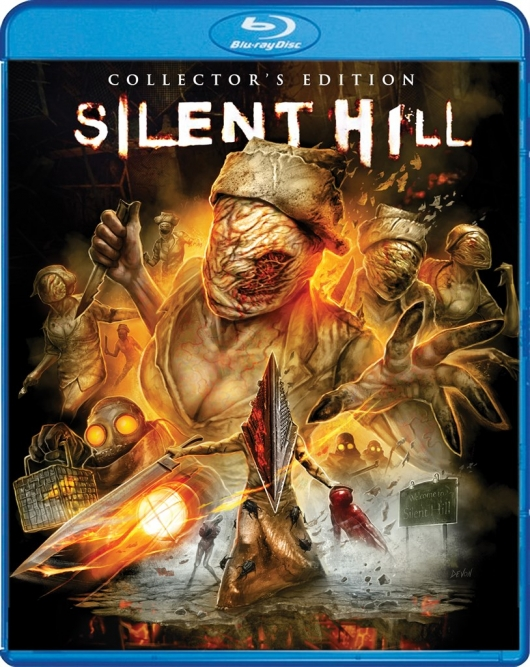 Blu-ray Review: Silent Hill (Collector's Edition) Cover Art