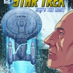 Star Trek: Sky's The Limit comic book cover IDW