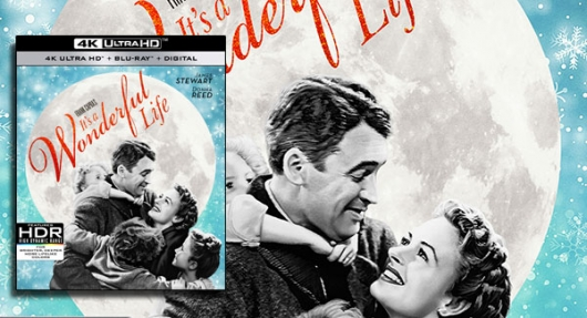 It's A Wonderful Life 4K banner