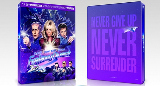 Galaxy Quest 20th Anniversary Blu-ray cover banner