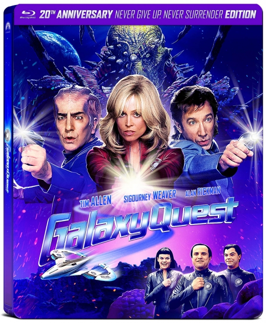 Galaxy Quest 20th Anniversary Blu-ray cover