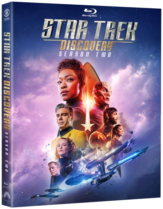 Star Trek: Discovery Season 2 Blu-ray cover box
