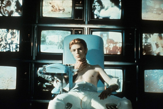 The Man Who Fell To Earth David Bowie 1976