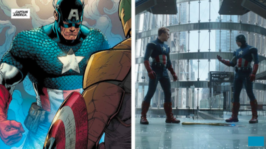 Marvel Avengers: Endgame Comic Book Easter Eggs