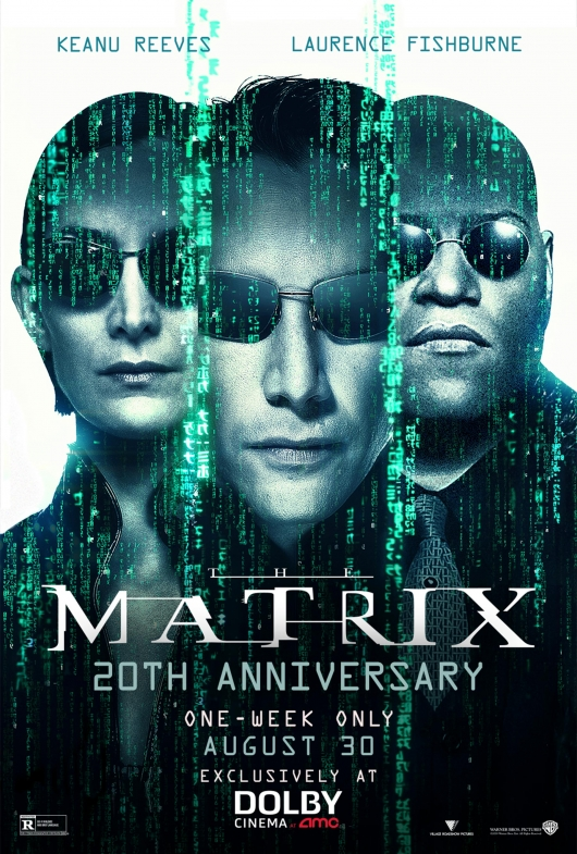 The Matrix 20th Anniversary poster Dolby Cinema