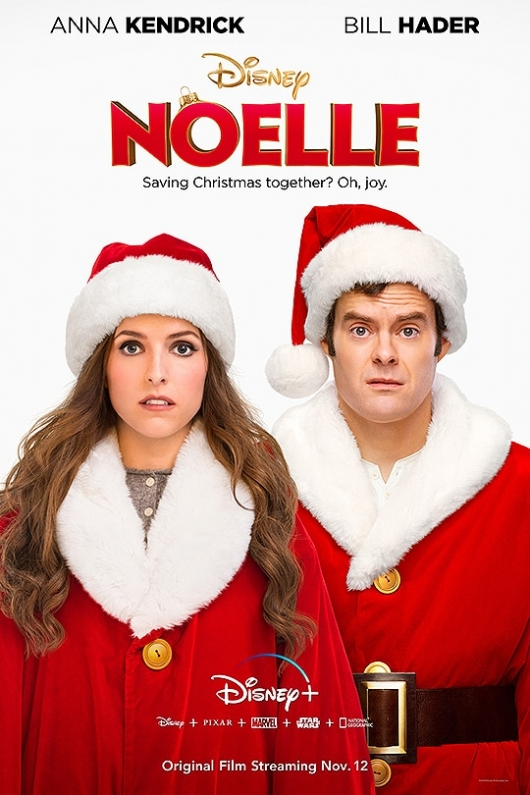 Noelle poster Anna Kendrick Bill Hader Disney Plus Christmas movie