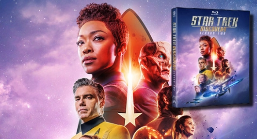 Star Trek: Discovery Season 2 Blu-ray cover banner