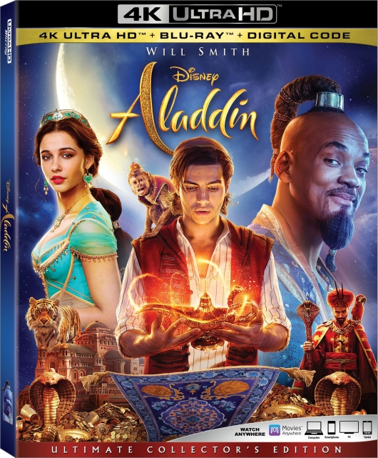 2019 Aladdin 4K Box Art