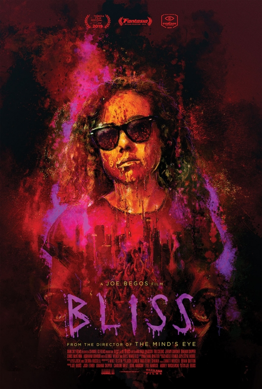 Bliss poster directed by Joe Begos