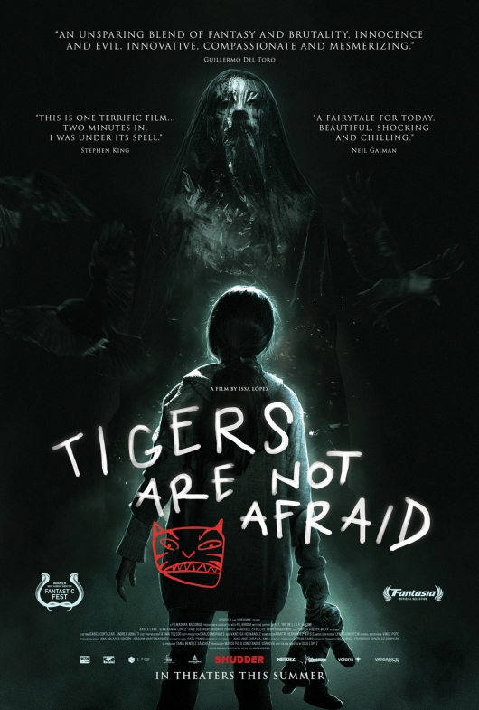 Tigers Are Not Afraid poster quotes