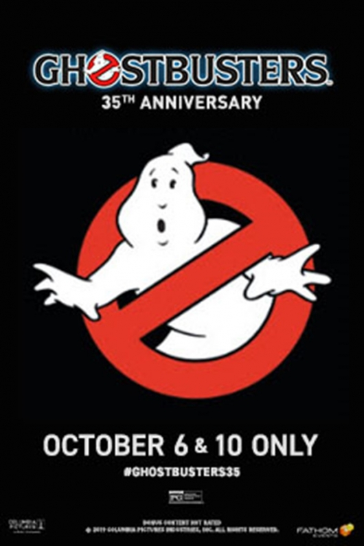 Ghostbusters 35th Anniversary Poster