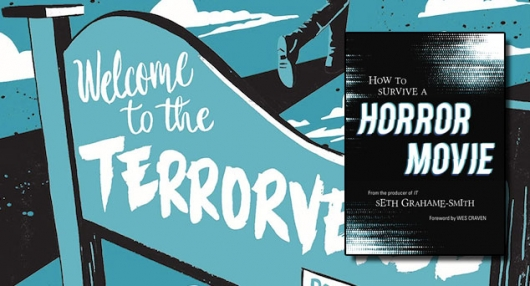 How To Survive A Horror Movie Seth Grahame-Smith book cover banner