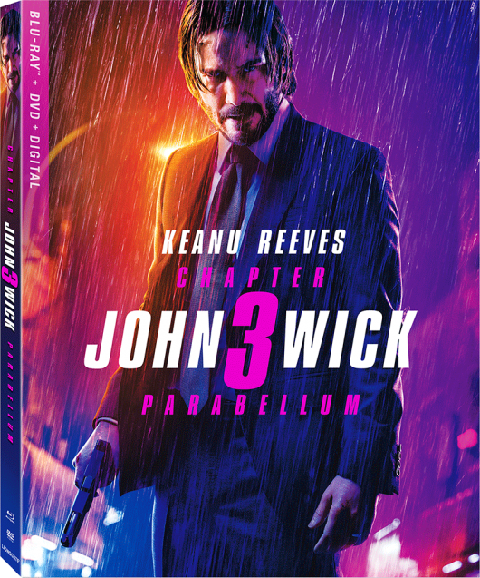 John Wick Chapter 3 Blu-ray cover