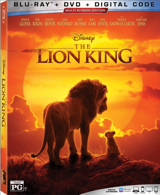 The Lion King 2019 Blu-ray