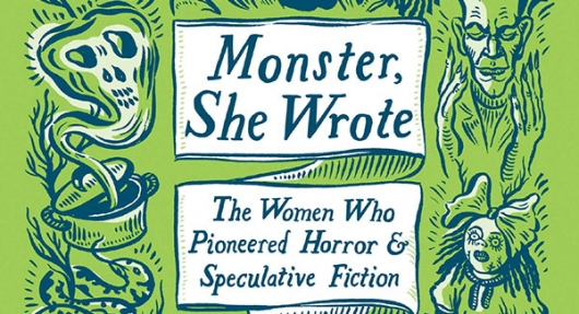 Monster She Wrote book cover banner