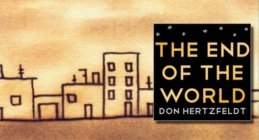 The End Of The World by Don Hertzfeldt book cover banner