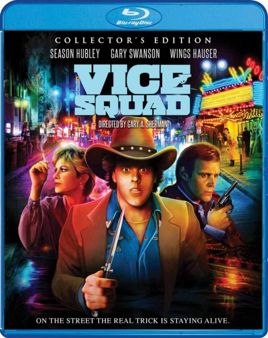 COVER ART - Blu-ray Review: Vice Squad (Collector's Edition)