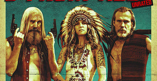 Rob Zombie 3 From Hell Movie Banner