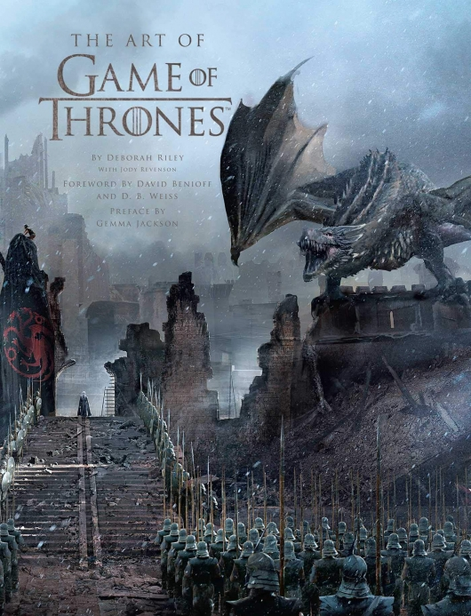 The Art of Game of Thrones book cover