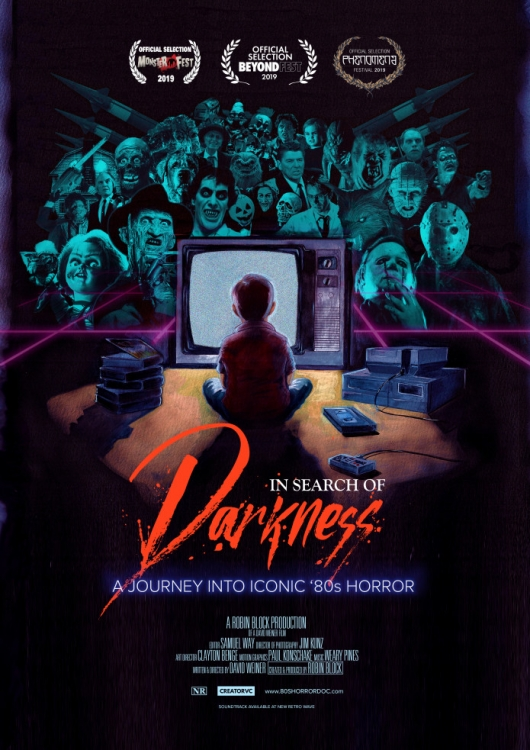 In Search Of Darkness 80s Horror Poster
