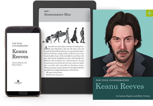 For Your Consideration: Keanu Reeves book and kindle