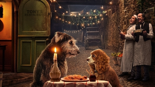 Lady and The Tramp Disney+ Image
