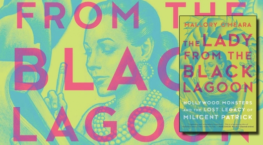 The Lady From The Black Lagoon book cover banner