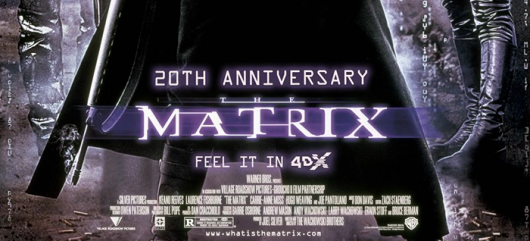 The Matrix 20th anniversary 4DX banner