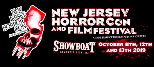 NJ Horror Con and Film Festival 2019 October banner