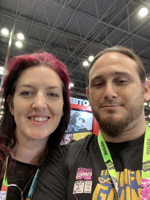 NYCC 2019: Game Of Thrones photographer Helen Sloan with Geeks Of Doom's Dr. Zaius