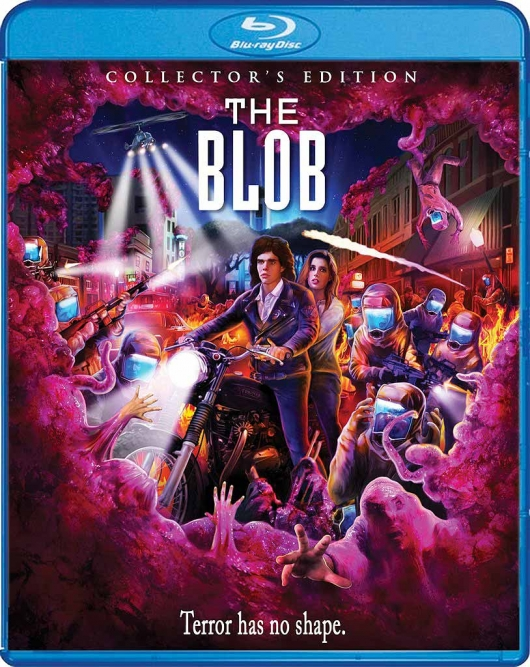 Blu-ray Cover Art for The Blob (1988) Collector's Edition