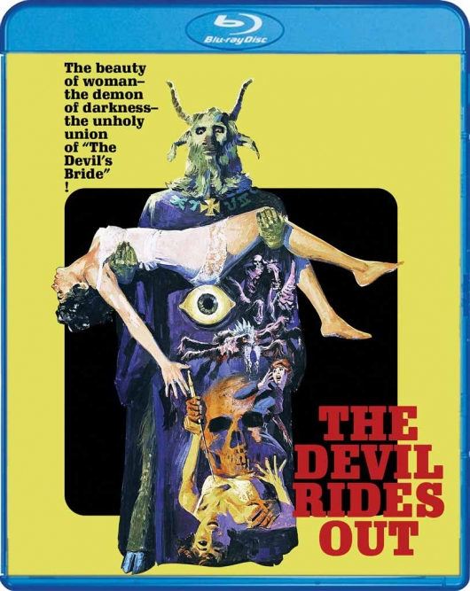 Blu-ray Review: The Devil Rides Out (Scream Factory Cover Art)