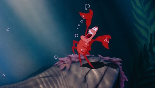 Sebastian in The Little Mermaid